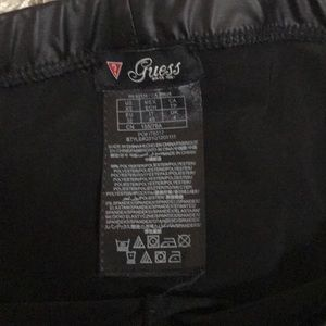 Guess Pants - Guess leather tights